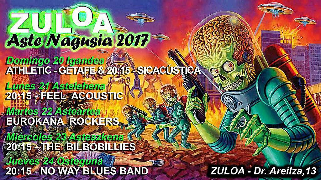 Cartel Aste Nagusia 2017 Zuloa