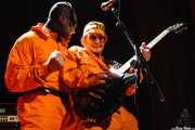 Koldo -voz- y Xenen -guitarra- de HT Fuse (Bilborock, Bilbao, 2007)