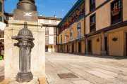 Fuente de la Plaza del Fontán, Plaza del Fontán, 2014