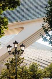 Palacio de Congresos de Oviedo (Santiago Calatrava, 2011), Calle Coronel Aranda, 2014