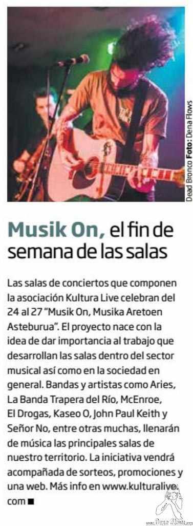 Zarata-Mondo Sonoro 244, noviembre de 2016 (pág. 2) (Santana 27, Bilbao, )