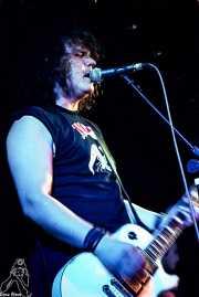 Xabi Garre, cantante y guitarrista de Señor No (Discoteca Gwendolyne, Getxo, )