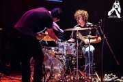 Eric Davidson -voz- y  Sam Brown -batería- de New Bomb Turks (Kafe Antzokia, Bilbao, )