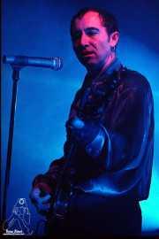 Francis Díez, cantante y guitarrista de Doctor Deseo (Sala Jam, Bergara, )