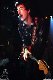 Rober!, cantante, guitarrista y teclista de Atom Rhumba (Sala Azkena, Bilbao, )