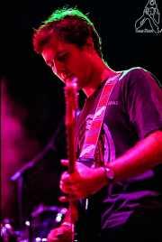 Santi Real, cantante y guitarrista de El Inquilino Comunista (Esparrago Rock 2001, Jerez de la Frontera, )