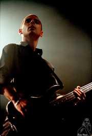 John Calabresse, bajista de Danko Jones (Sala Jam, Bergara,2001 )