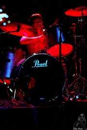Andoni Etxebeste, baterista de Señor No (Kafe Antzokia, Bilbao, )