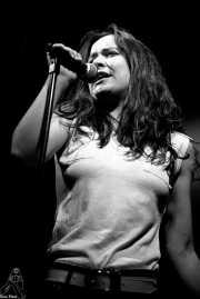 Mati, cantante de Five Lives (Sala Jam, Bergara, )