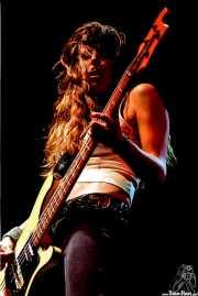 Katielyn Campbell, bajista de Nashville Pussy (Serie Z, Jerez de la Frontera, )
