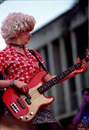 Mary Huff. cantante y bajista de Southern Culture on the Skids (, Jerez de la Frontera, )