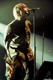 Liam Gallagher, cantante (Pabellón de La Casilla, Bilbao, )