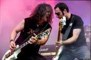 Xabi Garre -voz y guitarra- y Mikel Serrano -bajo- de Señor No (Bilbao Acción Rock (BAR), Bilbao, )