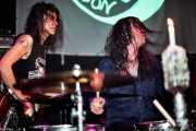 Toody Cole -bajista y cantante- y Andrew Loomis -baterista- de Dead Moon (Hell Dorado, Vitoria-Gasteiz, )