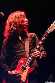 Christian Livingstone, guitarrista de The Datsuns (FestiMad, Móstoles, )