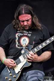Tim Sult, guitarrista de Clutch (FestiMad 2005)