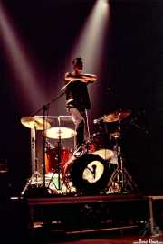Bill Milhizer, baterista de The Fleshtones (Kafe Antzokia, Bilbao, )