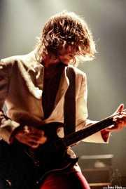 Mattias Bärjed, guitarrista de The Soundtrack of Our Lives (Kafe Antzokia, Bilbao, )