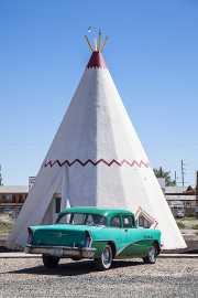 Wigwam Hotel en la Ruta 66, Holbrook (Arizona)