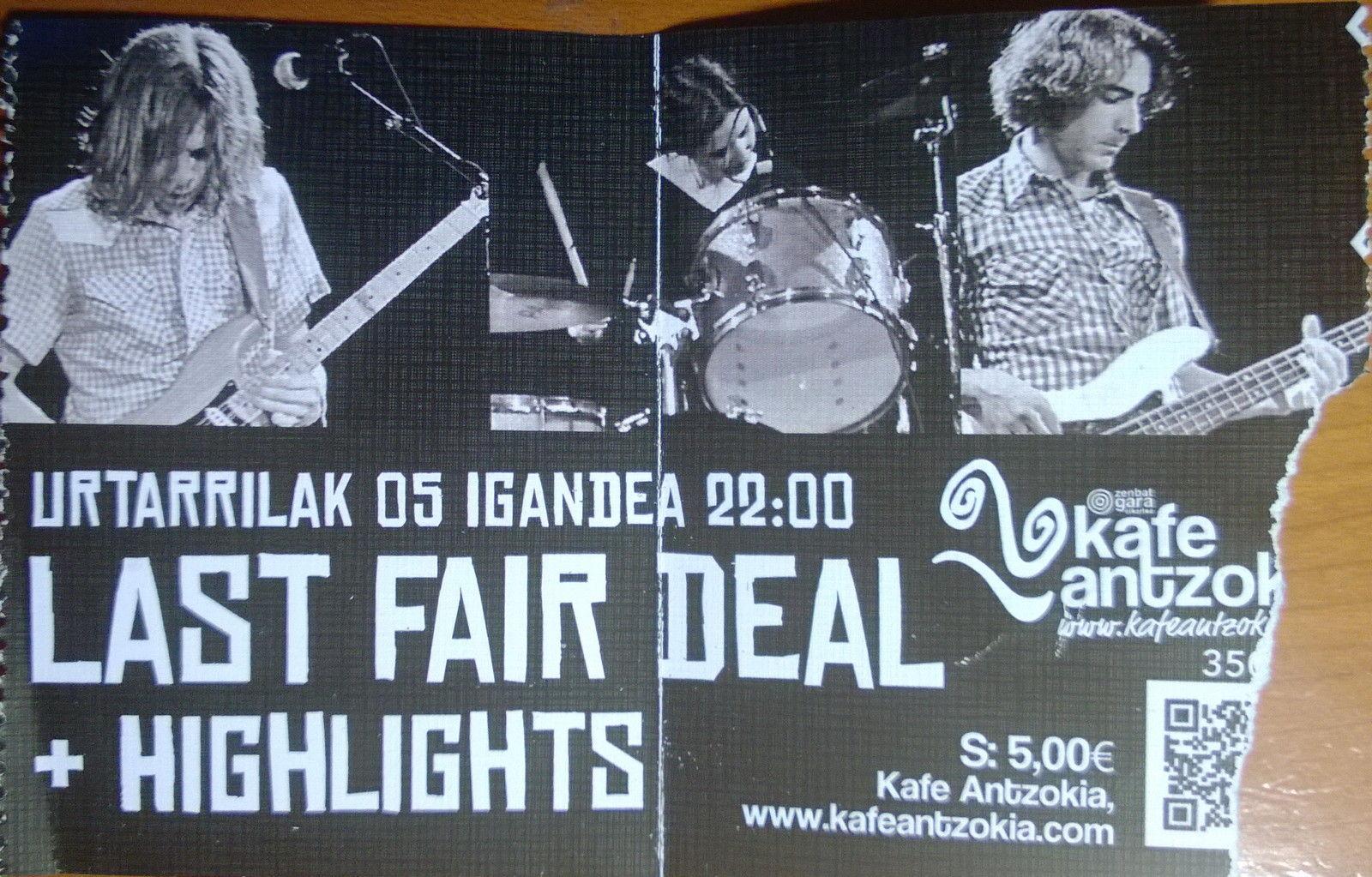 Entrada. Last Fair Deal 5I14