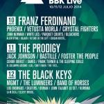 Cartel Bilbao BBK Live 2014