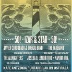 Cartel del izar & Star 50 edición