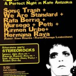 Cartel Lou Reed. A perfect night in Kafe Antzokia