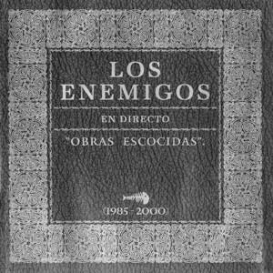 """Portada de """"En directo. Obras escocidas (1985-2000)"""" de Los Enemigos, tal y como se publicó en el fanzice In Focus 2 (2001)"""