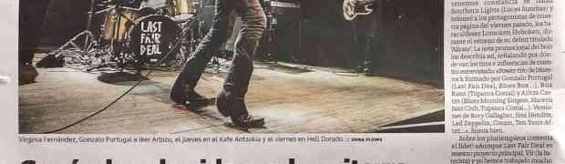 En la prensa de papel de abril de 2015: Ruta 66 y Zarata