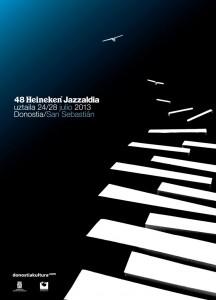 Cartel Donostiako jazzaldia 2013