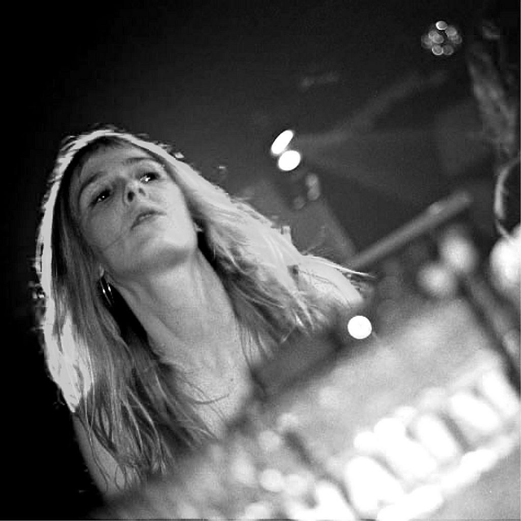 Foto de Marta Ruiz en el fanzine In Focus nº4 (2002)