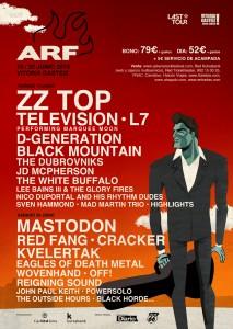 Cartel del Azkena Rock Festival 2015