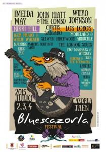 Cartel del festival BluesCazorla 2015