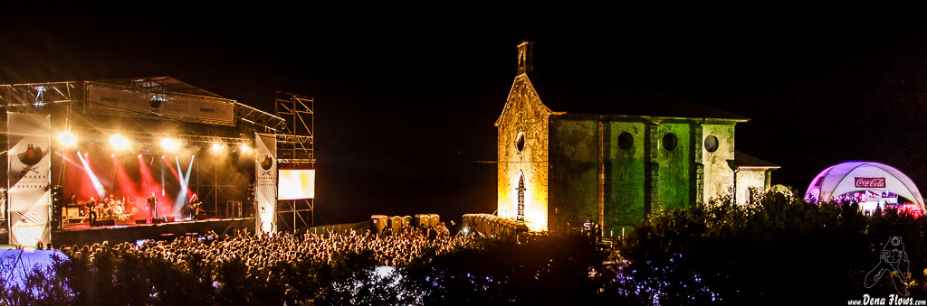 Recinto del Mundaka Festival 2015, Santa Katalina, Mundaka, 1/VIII/2015