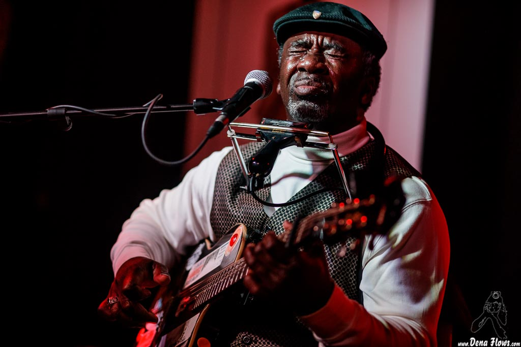 "Terry ""Harmonica"" Bean, Solo Blues 30 Aniversario, Sala Azkena, Bilbao, 14/II/2019"