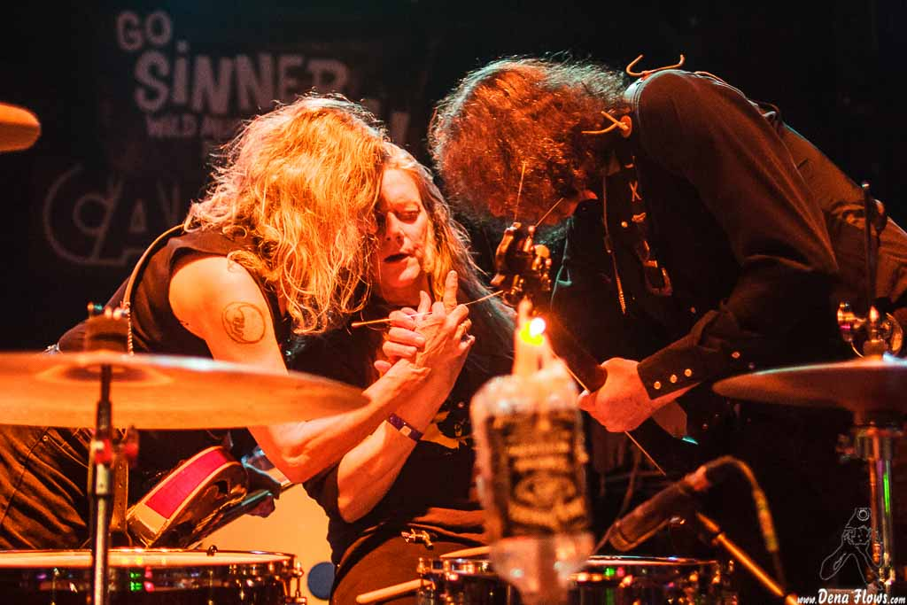 Dead Moon, Go Sinner Go!! 2015, Sala Caracol, Madrid, 17/I/2015. Fotos por Dena Flows