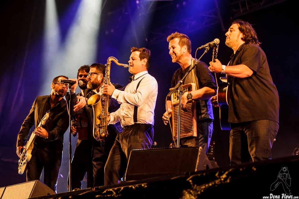 Travellin' Brothers Big Band, Mundaka Festival 2015, Santa Katalina, Mundaka, 31/VII/2015