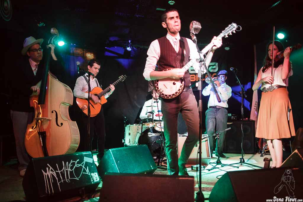 Ghost Number & His Tipsy Gypsies, Sala Azkena, Bilbao, 12/VI/2015