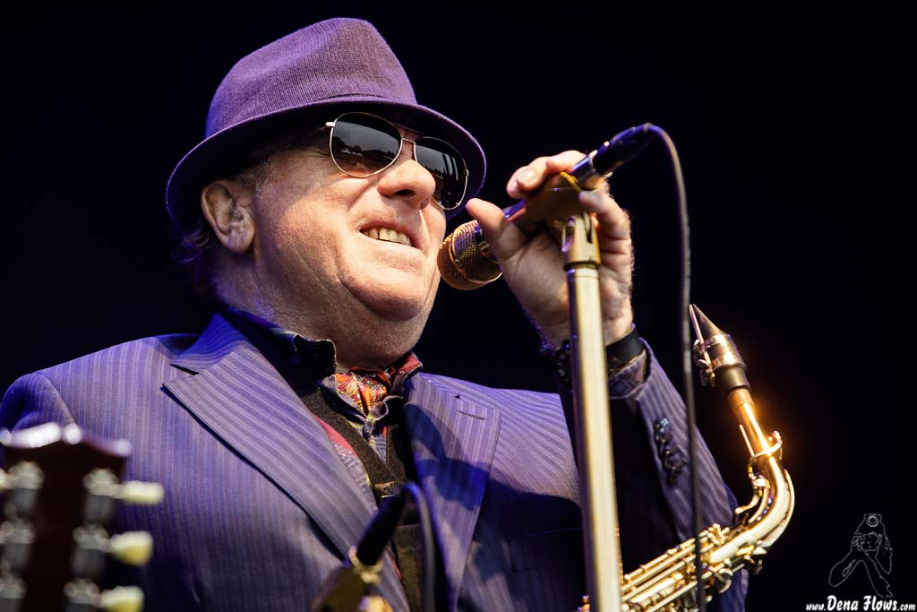 Van Morrison, cantante y saxofonista