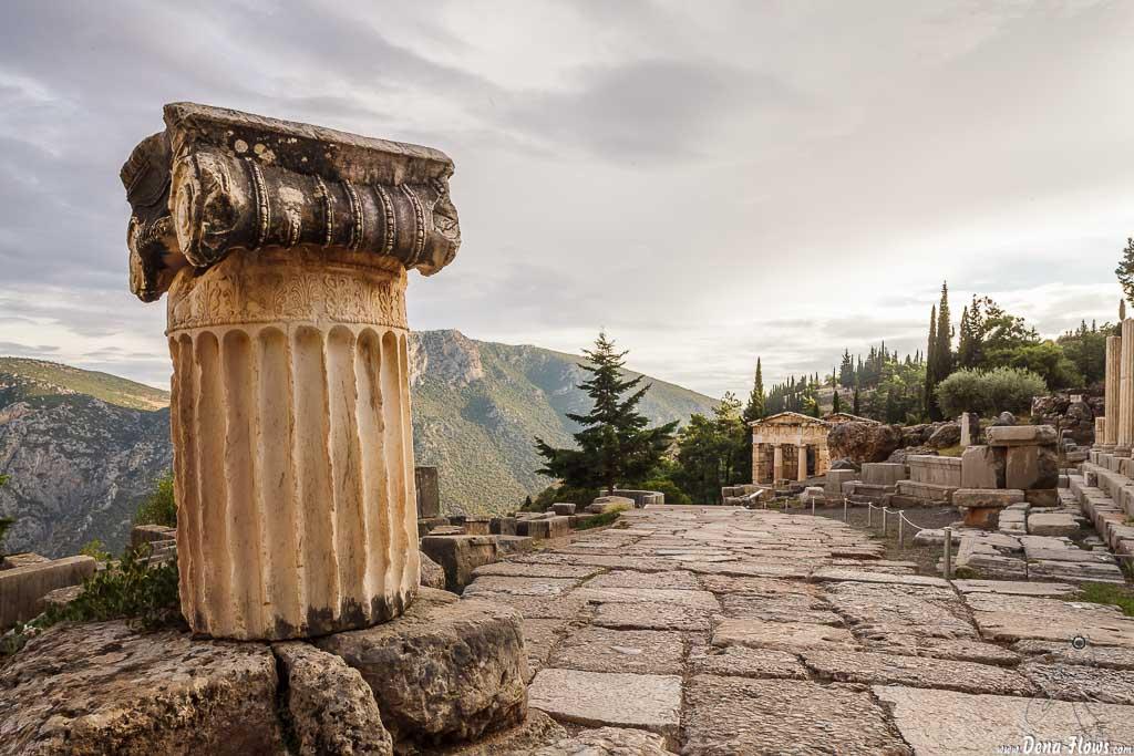 Delfos, Fócida, Grecia