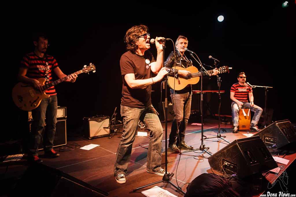 Santiago Delgado y los Runaway Lovers, Ciclo Izar & Star 2015, Sala Cúpula del Teatro Campos, Bilbao, 20/II/2015