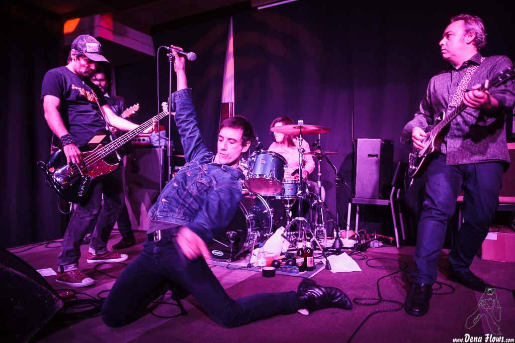 Screamin' George & The Hustlers, Izar & Star 2015, Kafe Antzokia (Kutxa beltza), Bilbao, 26/XI/2015