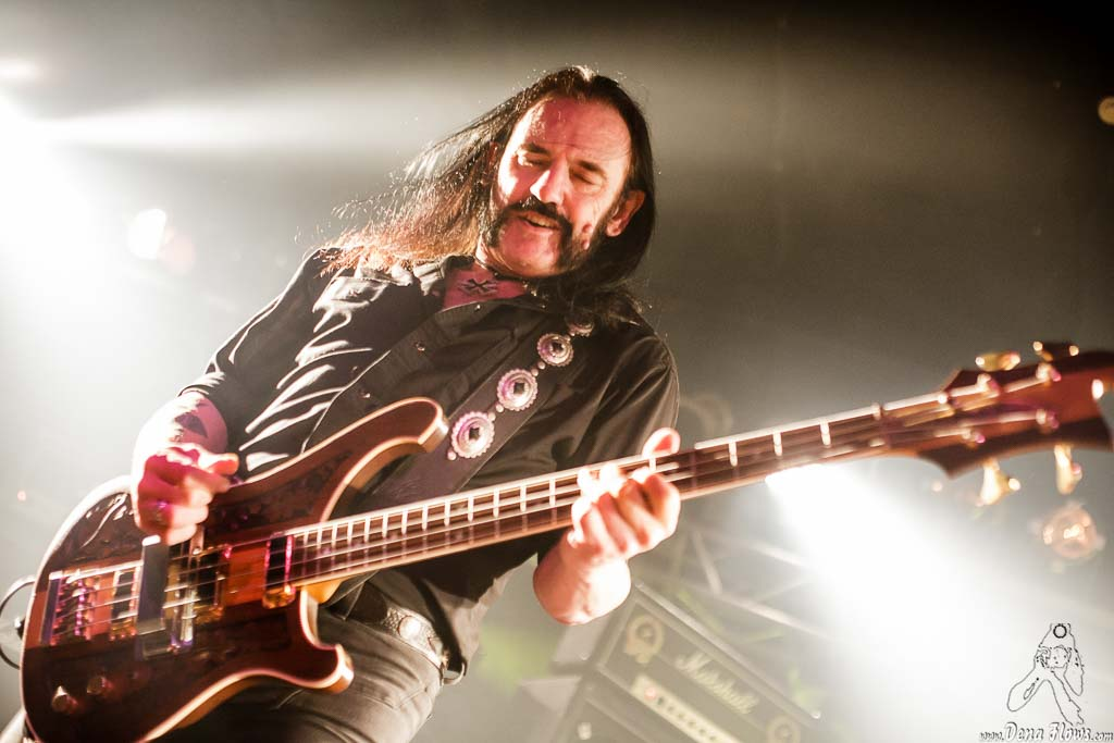 Lemmy Kilmister, cantante y bajista de Motörhead (RockStar, Barakaldo, 2008)