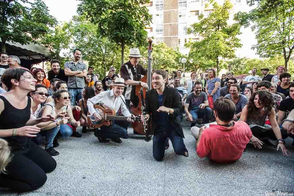 Doc Scanlon's Swingsters, Gastroswing 2015, Vitoria-Gasteiz, Murgía y Aramaio, VI/2015
