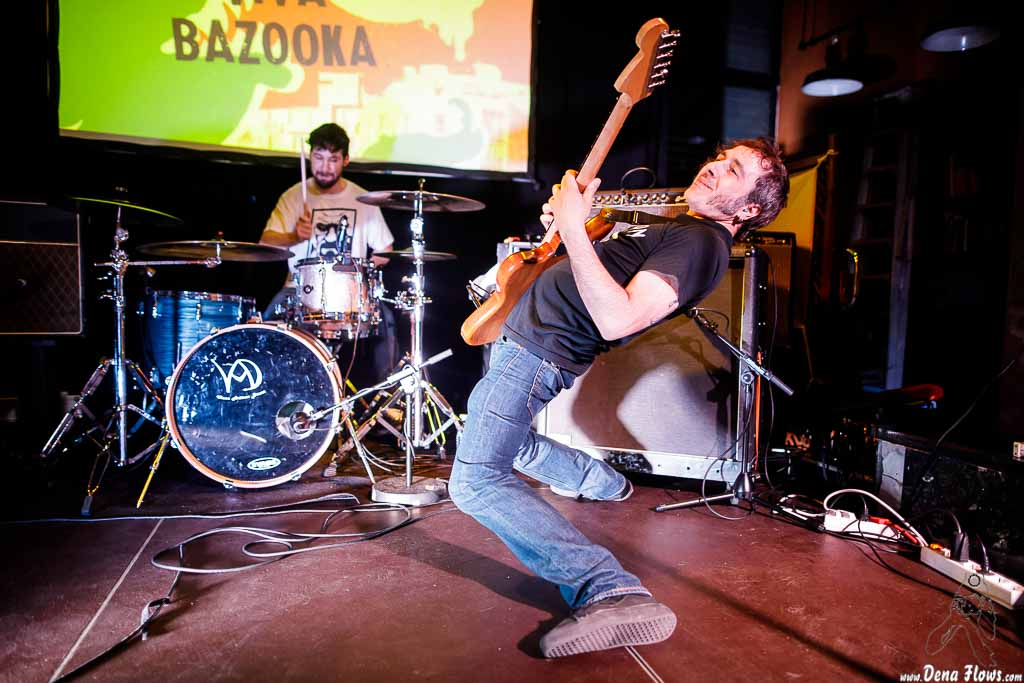 Viva Bazooka, Fuzz in the city 2017, Hika Ateneo, Bilbao, 1/IV/2017