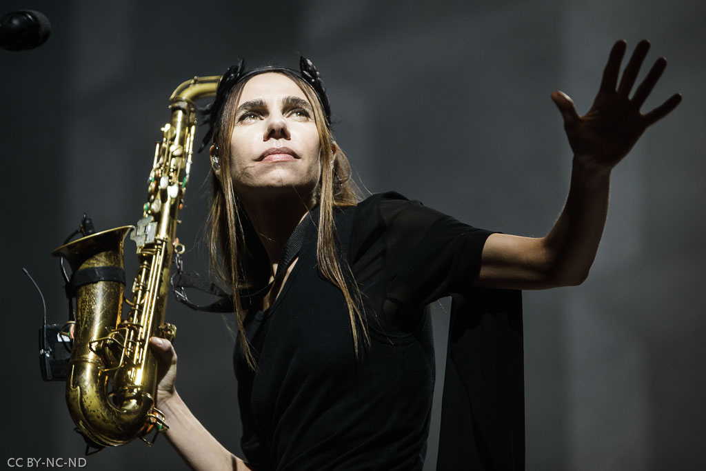 PJ Harvey, Bizkaia International Music Experience - BIME 2016, Bilbao Exhibition Centre - BEC, Barakaldo, 28/X/2016