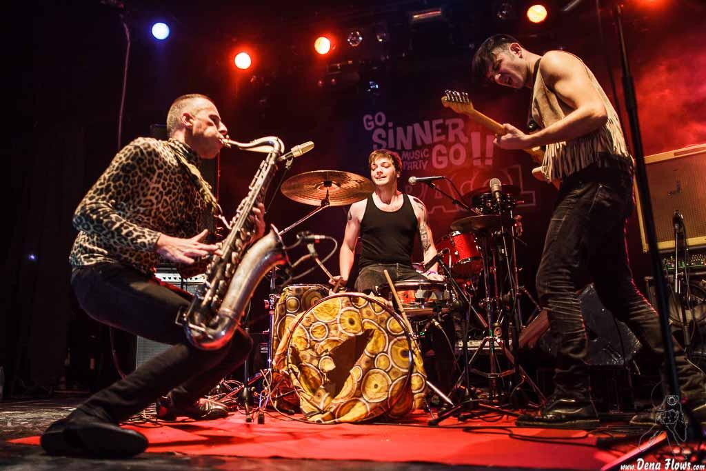 Weird Omen, Go Sinner Go!! 2015, Sala Caracol, Madrid, 17/I/2015