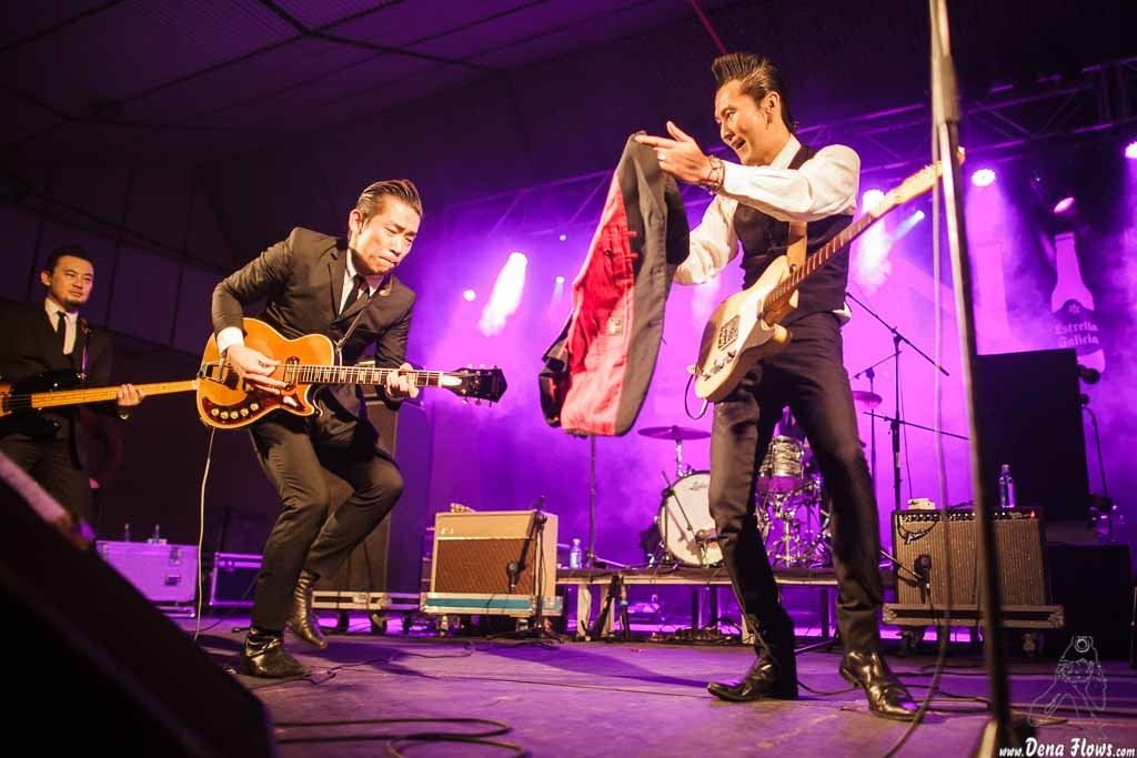 The Neatbeats, Purple Weekend 2015, Pabellón CHF, León, 5/XII/2015
