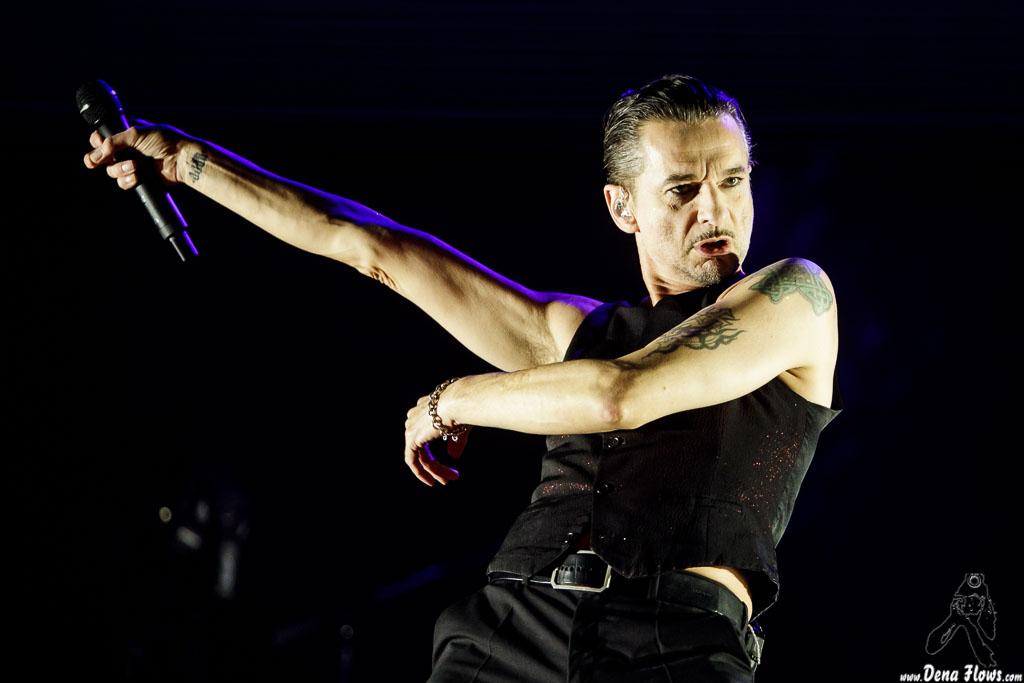 Dave Gahan, cantante  de Depeche Mode, Bilbao BBK Live 2017