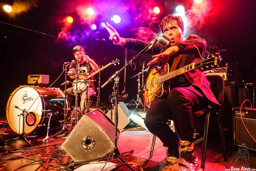 The Freeborn Brothers, Festival Country Charro 2014, Sala B del CAEM, Salamanca, 13/XII/2014. Foto por Dena Flows